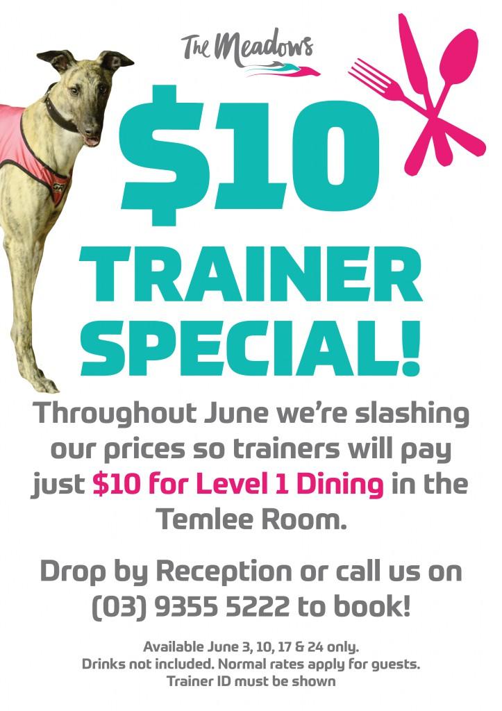 June Trainer Offer