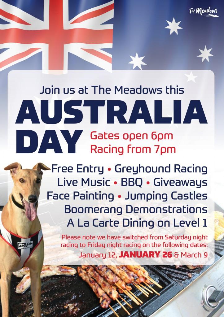 A4 Australia Day