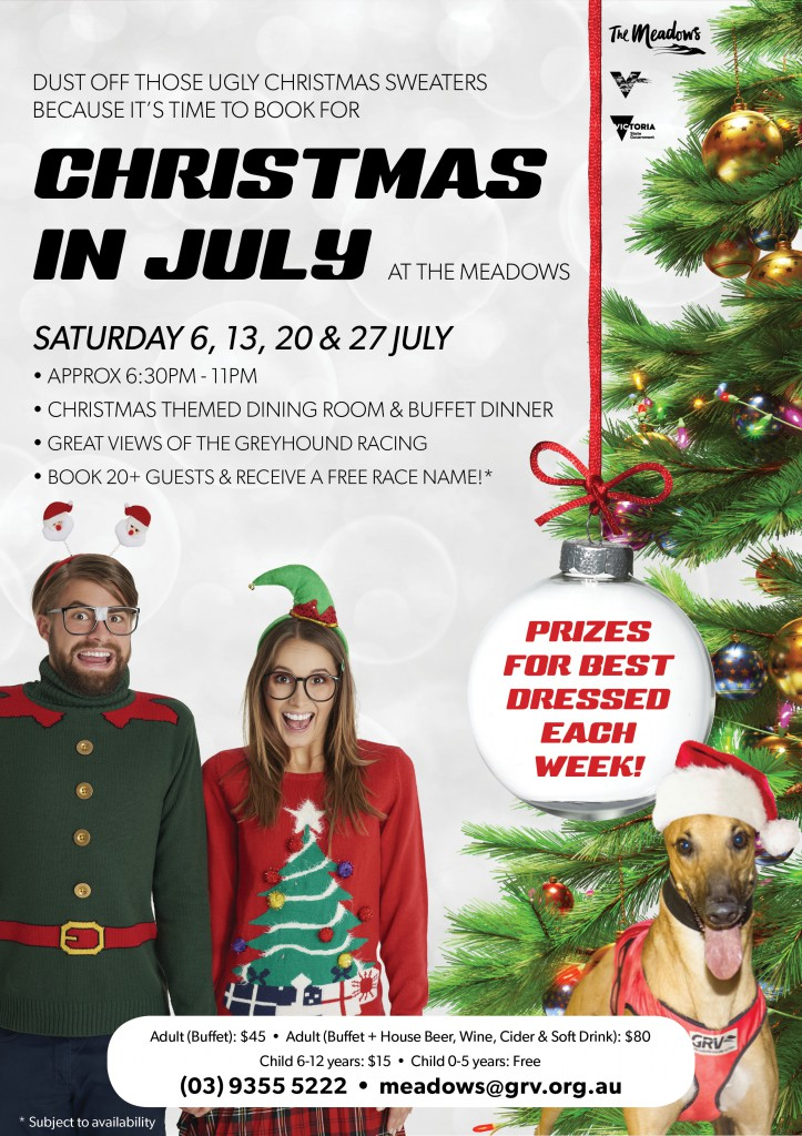 Christmas in July 2019 A4 Web