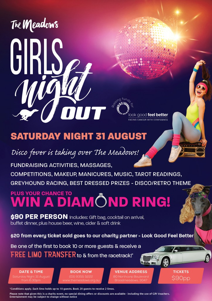 Girls Night Out A4 Flyer 2019