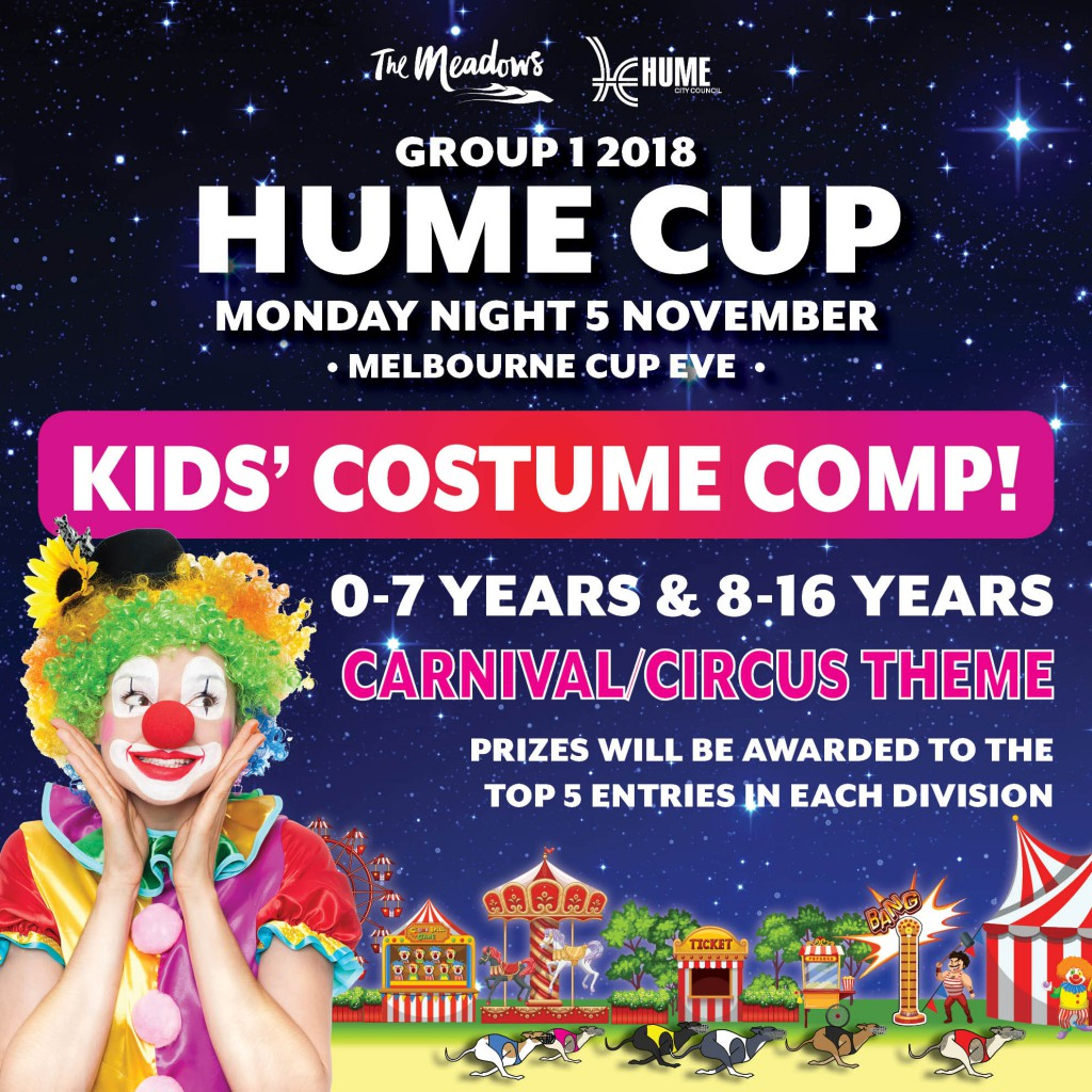 2018 Hume Cup Facebook COSTUME COMP