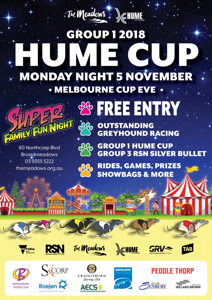 Hume Cup A4 Flyer