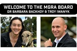 Two new Board members, Life Membership for MGRA Chairman