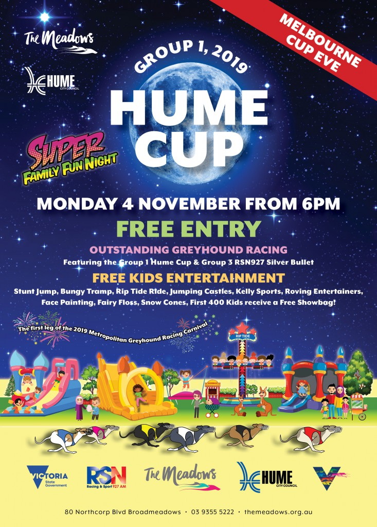 Hume Cup A4 Flyer No Sponsors