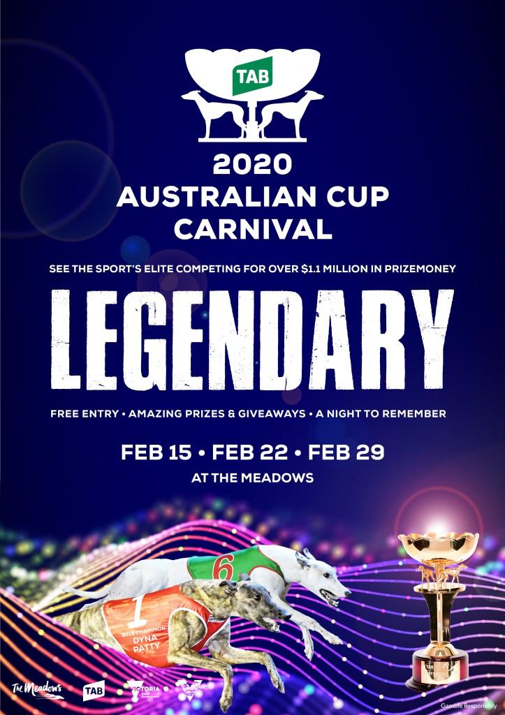 2020 Australian Cup Carnival Flyer