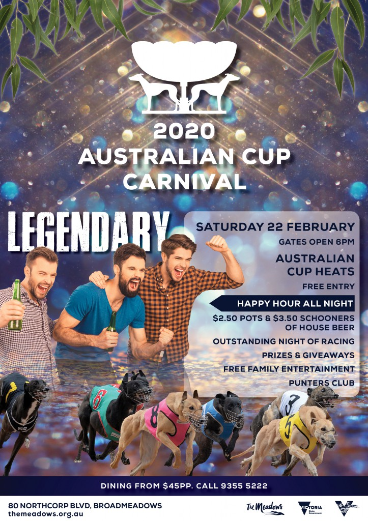 2020 Australian Cup Flyer WEEK TWO