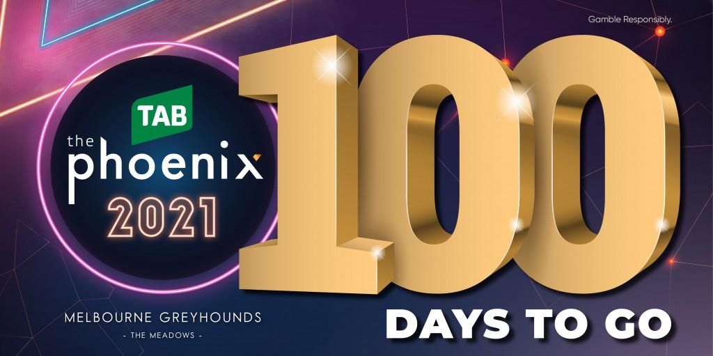 100 Days to go Twitter